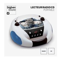 bigben radio/lecteur CD portable CD52 Chats 2-Avant