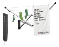 Brabantia Séchoir-parapluie mural Wallfix 24 m avec housse de protection-Détail de l'article