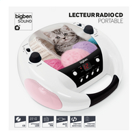 bigben radio/lecteur CD portable CD52 Chats 3-Avant
