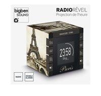 bigben radio-réveil avec projection RR70 Paris-Détail de l'article