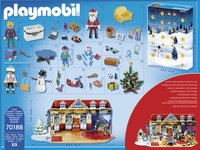 PLAYMOBIL 70188 Adventskalender Speelgoedwinkel-Achteraanzicht