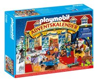 PLAYMOBIL 70188 Adventskalender Speelgoedwinkel-Linkerzijde
