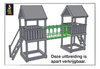 Fox play houten speeltoren Riverside-Artikeldetail