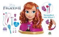 Kappershoofd Disney Frozen II Anna-commercieel beeld