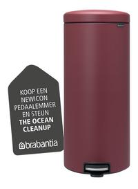 Brabantia Pedaalemmer newIcon mineral windsor red 30 l-Artikeldetail