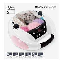 bigben draagbare radio/cd-speler CD52 Cats 3-Vooraanzicht
