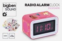 Bigben wekkerradio RR30 Sticker roze-Artikeldetail