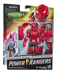 Actiefiguur Power Rangers Beast Morphers - Red Ranger Red Fury Mode-Vooraanzicht