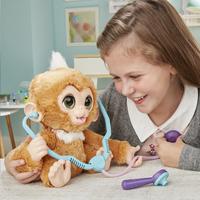 FurReal interactieve knuffel Zandi het zieke aapje-Afbeelding 2