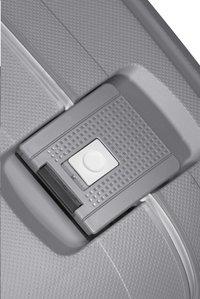 Samsonite Harde reistrolley S'Cure Spinner silver 55 cm-Artikeldetail