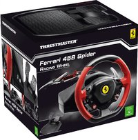 XBOX One Racing Wheel Ferrari 458 Spider met pedalen-Vooraanzicht