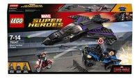 LEGO Super Heroes 76047 La poursuite de la Panthère Noire-Avant