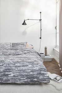 Ariadne at Home Housse de couette Melee grey flanelle