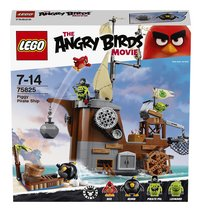 LEGO Angry Birds 75825 Piggy Pirate Ship-Vooraanzicht