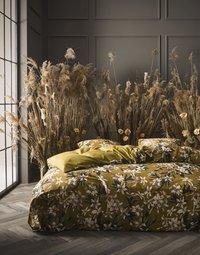 Essenza Dekbedovertrek Verano ochre katoensatijn 140 x 220 cm-commercieel beeld