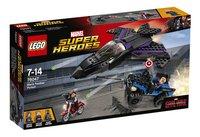 LEGO Super Heroes 76047 La poursuite de la Panthère Noire