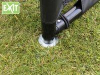 EXIT voetbaldoel met doeltrainingswand Maestro België zwart-Afbeelding 1