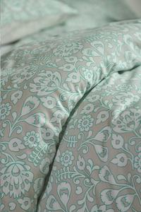 Esprit Dekbedovertrek Folk floral katoensatijn 140 x 220 cm-Artikeldetail