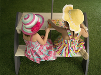 AXI kinderpicknicktafel Kylo met parasol-Afbeelding 2