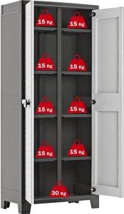 Kis armoire en matière synthétique Titan Multispace H 182 cm-Détail de l'article