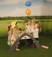 AXI kinderpicknicktafel Kylo met parasol-Afbeelding 4