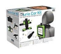 Kurio Universele tablethouder voor in de wagen + autolader