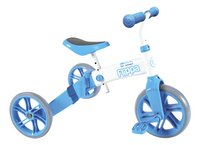 Y Volution vélo sans pédales Y Velo Flippa 2 en 1 10' bleu