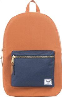 Herschel sac à dos Settlement Carrot/Navy