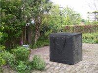 Outdoor Covers beschermtas voor loungekussens L 75 x B 75 x H 90 cm polyethyleen-Afbeelding 1