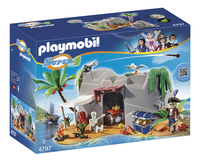 Playmobil Super 4 4797 Caverne des pirates-Avant