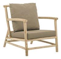 Apple Bee fauteuil de jardin Lounge Rooty-Côté gauche