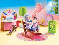 PLAYMOBIL Dollhouse 70210 Chambre de bébé-Image 1
