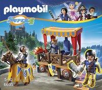 Playmobil Super 4 6695 Tribune royale avec Alex