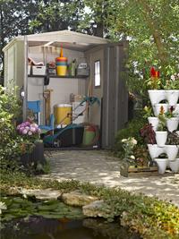 Keter tuinhuis Factor 66 195,5 x 178 cm-Afbeelding 3