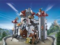 Playmobil Super 4 6697 Citadelle transportable du Baron Noir-Image 1