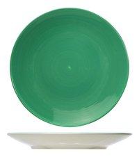 Cosy & Trendy 6 assiettes Invertida Ø 26 cm vert-commercieel beeld