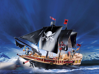 Playmobil Pirates 6678 Piraten aanvalsschip-Afbeelding 1
