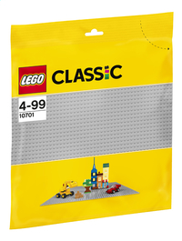 LEGO Classic 10701 La plaque de base grise-Avant