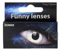 Funny Fashion lentilles à usage unique Zombie-Avant