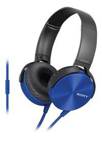 Sony casque MDR-XB450 bleu-Côté droit