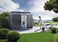 Biohort abri de jardin avec porte double Highline gris foncé 315 x 275 cm-Image 4