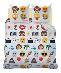 Emoji Housse de couette Emoji World flanelle