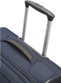 Samsonite Valise souple Spark Upright EXP dark blue 55 cm-Vue du haut