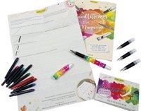 Online vulpen Handlettering 2 go Rainbow Heart-Vooraanzicht