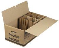Set van 5 kartonnen servies-/boekendozen 50 l-Artikeldetail