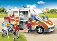 Playmobil City Life 6685 Ziekenwagen met licht en geluid-Afbeelding 1