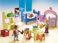 PLAYMOBIL Dollhouse 5306 Chambre d'enfants avec lits superposés-Image 1