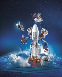 Playmobil City Action 6195 Lanceerbasis met raket-Afbeelding 1