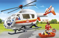 Playmobil City Life 6686 Traumahelikopter-Afbeelding 1
