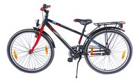 Citybike Blade 24/ noir avec porte-bagages-Côté droit